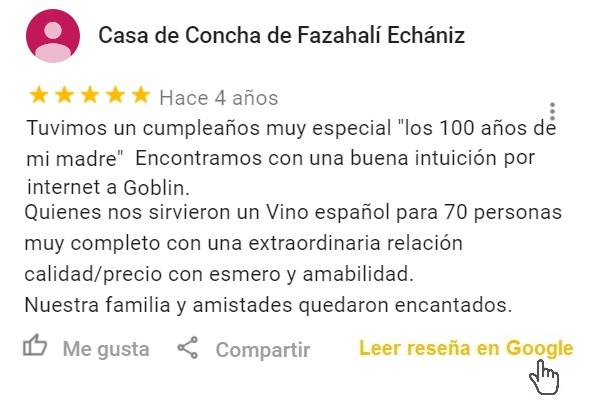 Reseña Google Cocktails y Vino español